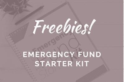 Emergency Fund Starter Kit